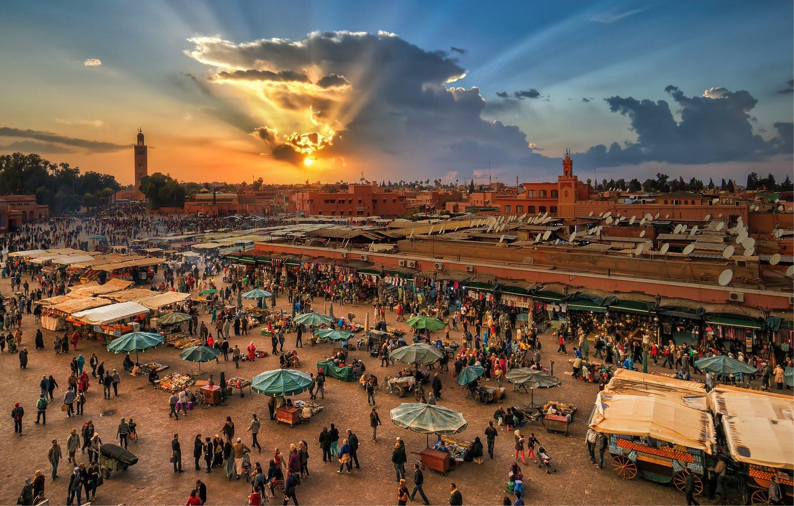 Voyage organisé au Maroc Hôtel El Andalous/Oum Palace 4 étoiles